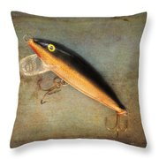 Fishing Lure II Throw Pillow