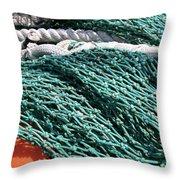 Fishing Nets Throw Pillow