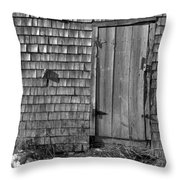 Fishing Shed 12 Throw Pillow