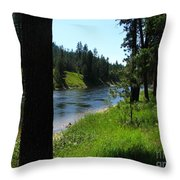 Fishing Spot 1 Throw Pillow