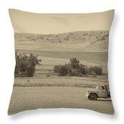 Fishtail Montana Throw Pillow