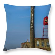 Fitgers Hotel And Brewery Throw Pillow