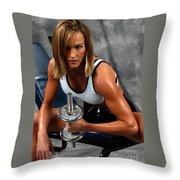 Fitness 27-2 Throw Pillow