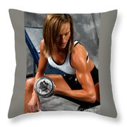 Fitness 28-2 Throw Pillow
