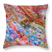 Fitzroy River Throw Pillow