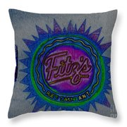 Fitz's Inverted And Painted Throw Pillow