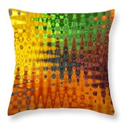 Five A Day Throw Pillow
