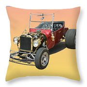 Five Bad Big Boys Rides Throw Pillow