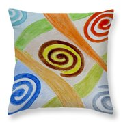 Five Forces Throw Pillow