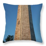 Five Mile Point Lighthouse Throw Pillow