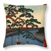 Five Pines Onagi Canal Throw Pillow
