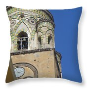 Five To Three In Amalfi Throw Pillow