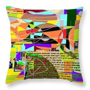 Fixing Space 6a Throw Pillow