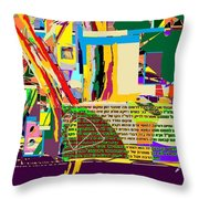 Fixing Space 6d Throw Pillow