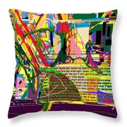 Fixing Space 6f Throw Pillow by David Baruch Wolk