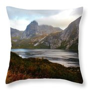 Fjordland Autumn Throw Pillow