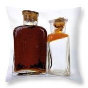 Flacons Throw Pillow by Bernard Jaubert