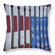 Flag Of Deported Vets Throw Pillow