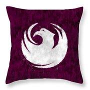Flag Of Phoenix Throw Pillow