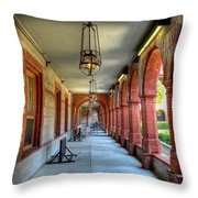 Flagler College Throw Pillow