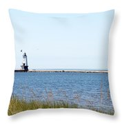 Flags In The Wind Throw Pillow