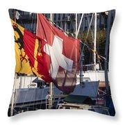 Flags Throw Pillow