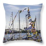 Flags Of The World 2 Throw Pillow