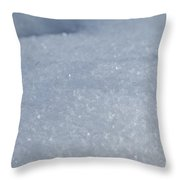 Flakes Throw Pillow