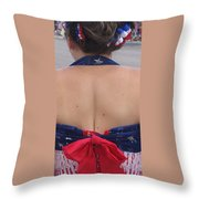 Flame Of The Barbary Coast Homage  #1 1945 Throw Pillow