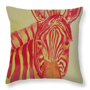 Flame Throw Pillow by Rhonda Leonard