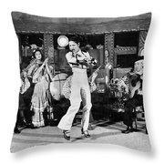 Flamenco Dancer, 1942 Throw Pillow