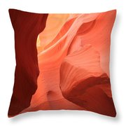 Flames In The Slot Throw Pillow