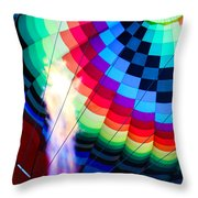 Flamin Happy Throw Pillow