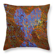 Flaming First Impressions  Throw Pillow