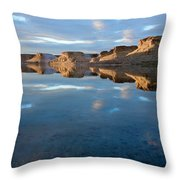 Flaming Gorge Throw Pillow