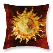 Flaming Out Throw Pillow