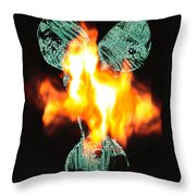Flaming Personality Throw Pillow