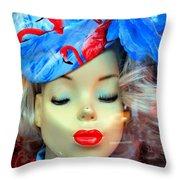 Flamingo Couture Throw Pillow