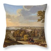 Flamstead Hill, Greenwich The Throw Pillow
