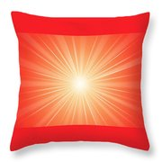 Flash 2 Throw Pillow by Philip Ralley