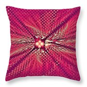 Flash Point Throw Pillow
