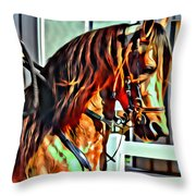 Flashy Fino Throw Pillow