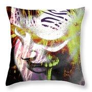 Flashy Frank  Throw Pillow