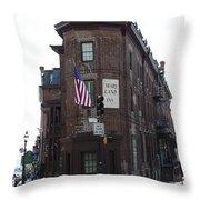 Flat Iron Annapolis - Maryland Inn Throw Pillow