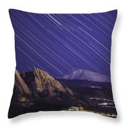 Flat Lined Throw Pillow