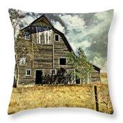 Flatland Farm Throw Pillow