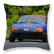 Flatout 90 Mazda Throw Pillow