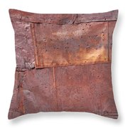 Flattened Tin Cans Throw Pillow