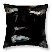 Flaws Of Faith  Throw Pillow