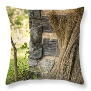Flax Throw Pillow by Heather Applegate